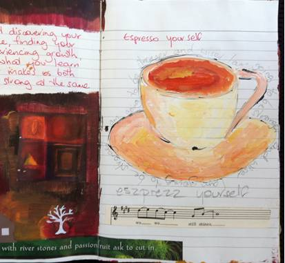 art journal exercise